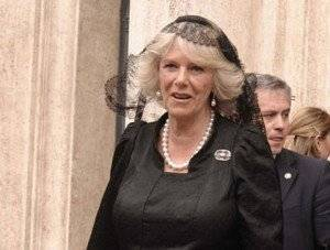PRINCE CHARLES OF ENGLAND IN ITALY