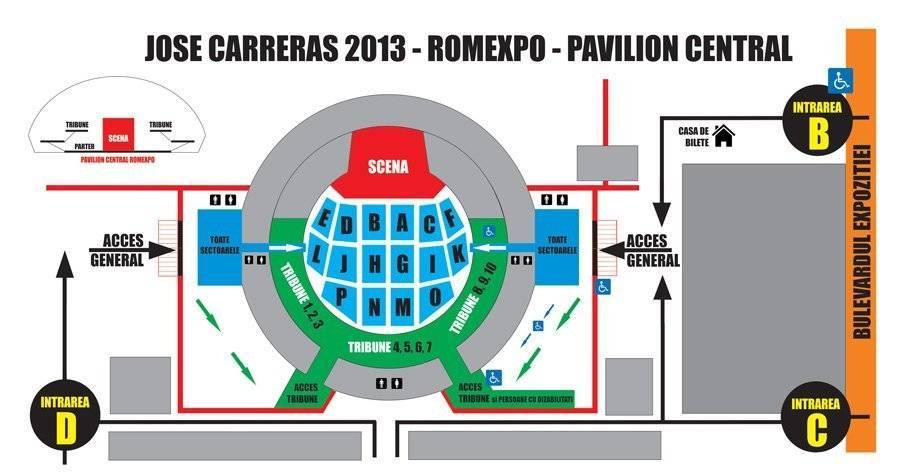 Harta Carreras 2013 Romexpo Pavilion Central Tabu