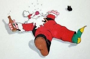 drunken-santa