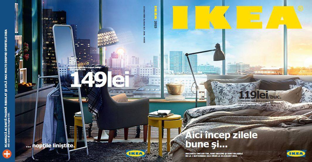 Coperta Catalog IKEA 2015