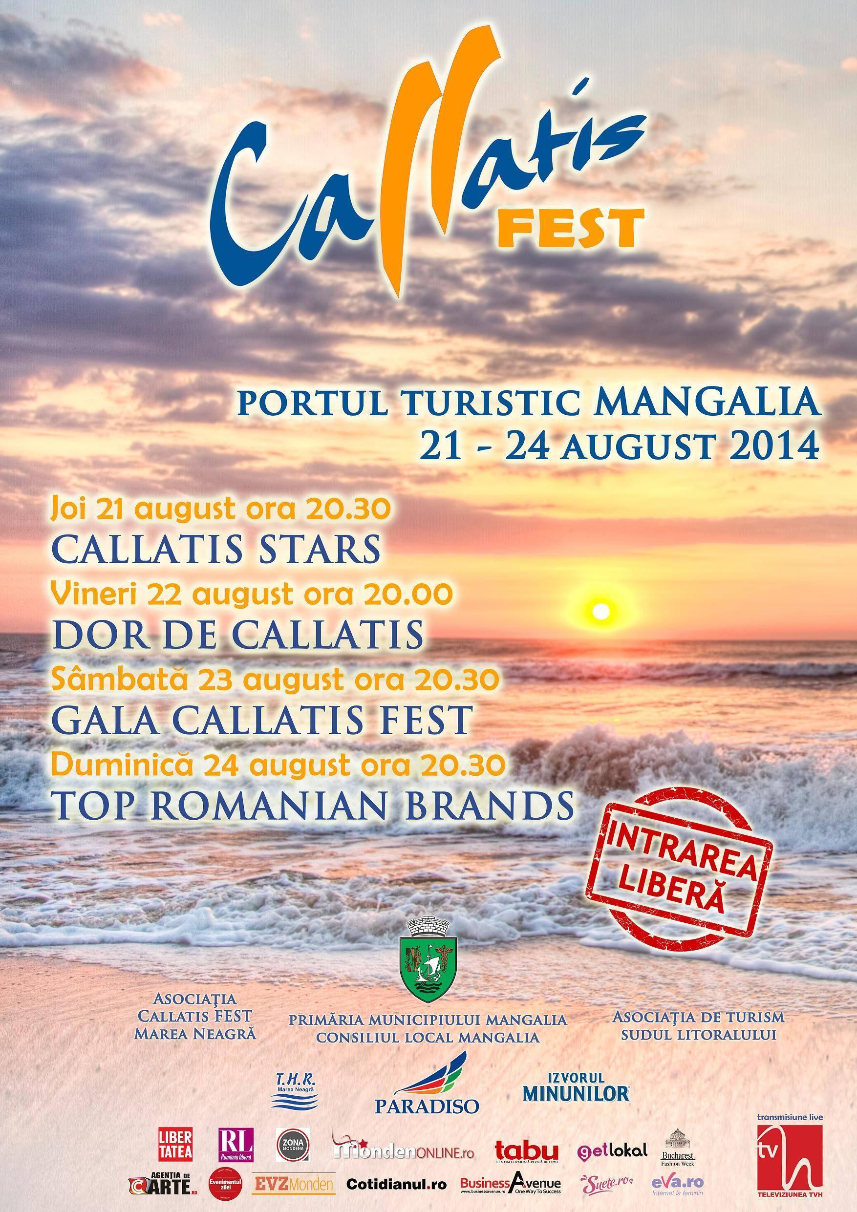 afis Callatis FEST 2014