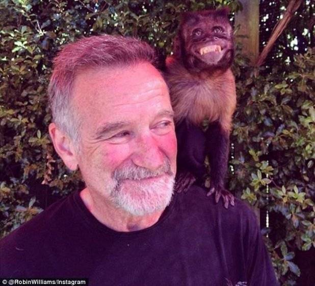 robin williams ultima foto