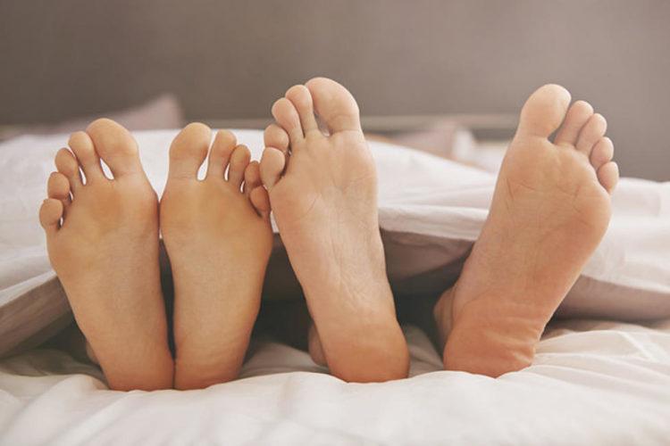 picioarele