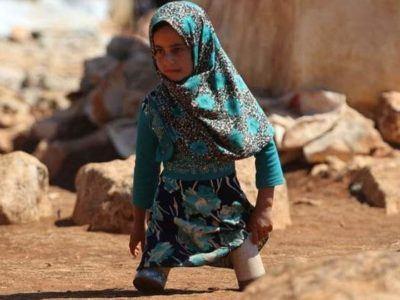 fetița fără picioare