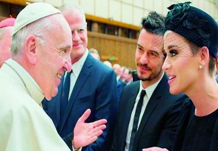 Katy Perry a redevenit creștină pentru că este cel mai mare fan al Papei Francis
