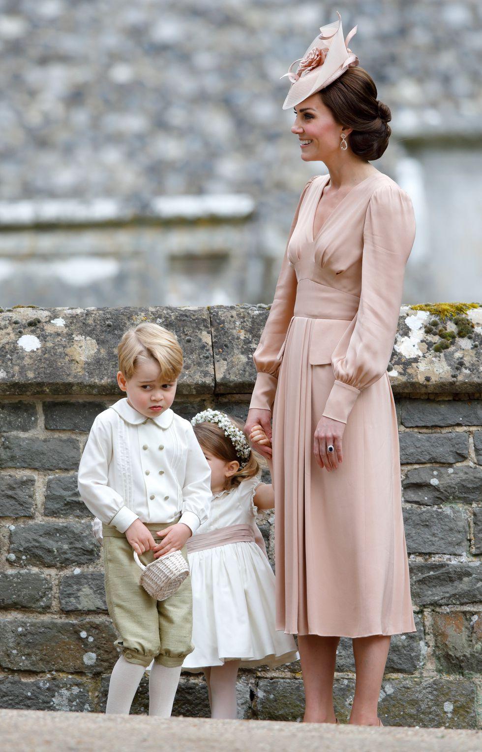20 mai 2017 - la nunta mătusii sale, Pippa Middleton