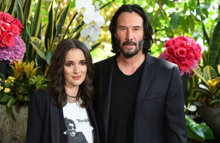 Winona Ryder s-a căsătorit cu Keanu Reeves în România