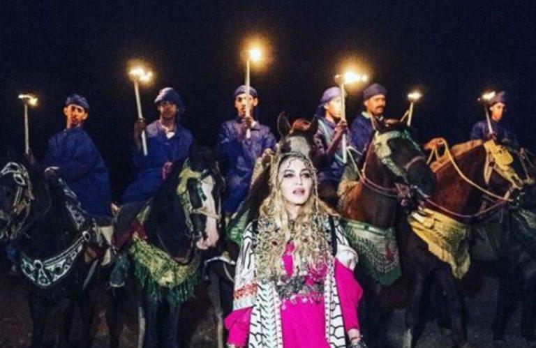 Madonna, aniversare la palat. Petrecerea a ținut cinci zile și cinci nopți