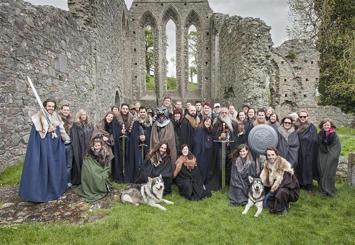 Game of Thrones transformă locațiile de filmare din Irlanda de Nord în atracții turistice