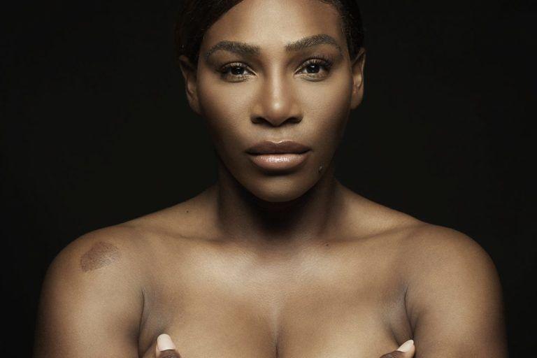 Serena Williams s-a dezbrăcat pentru o cauză nobilă