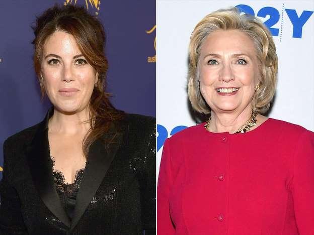 Monica Lewinsky, întâlnire de gradul 0 cu Hillary Clinton