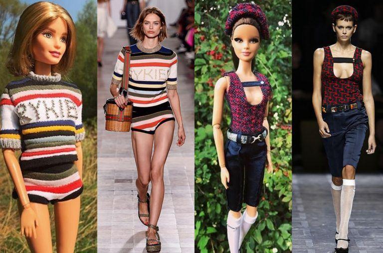Barbie îmbracă ținute inspirate din colecțiile marilor designeri