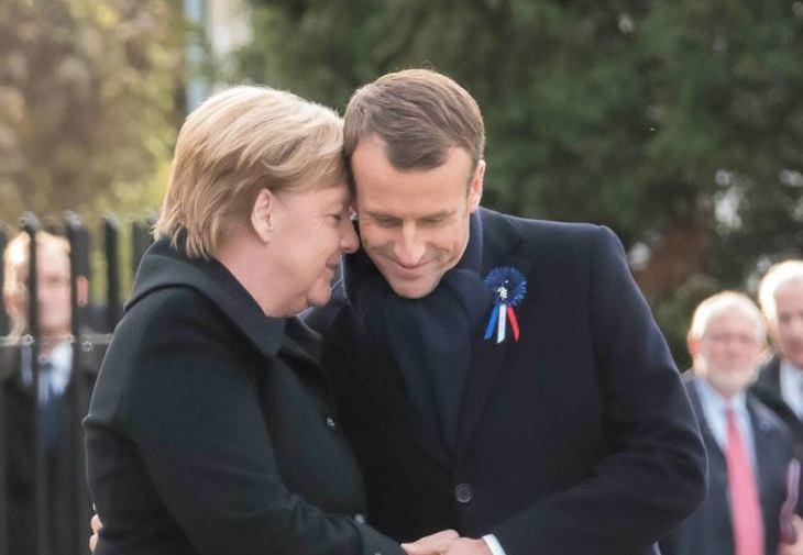Angela Merkel a fost nevoită să-i explice unei franțuzoaice de 101 de ani că nu este soția lui Macron