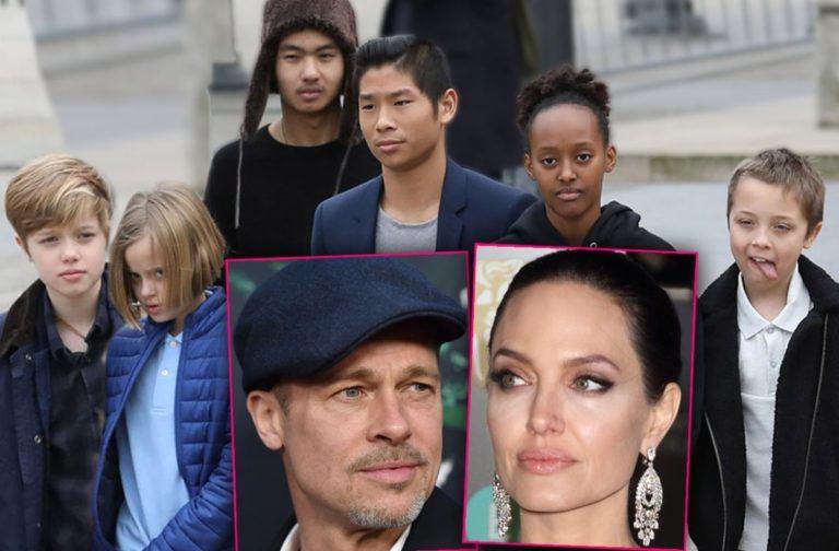 Jocul murdar al Angelinei Jolie! Cum a încercat să-l îndepărteze pe Brad Pitt de copii
