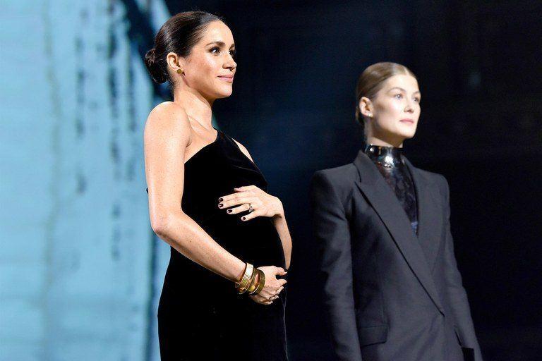 Poza cu Meghan la British Fashion Awards pe care Casa Regală a șters-o fără motiv de pe Instagram