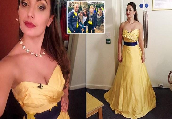 """Unei soprane britanice i s-a cerut să-și schimbe rochia """"pro-UE"""" înainte de concert"""