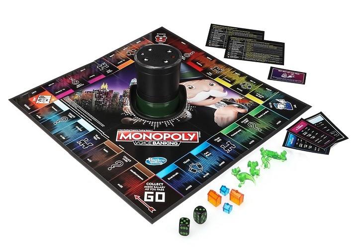 Hasbro lansează primul Monopoly care se activează vocal și nu se folosește de numerar