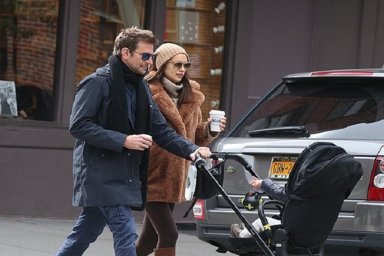 Bradley Cooper și Irina Shayk au hotărât cu cine rămâne fetița lor