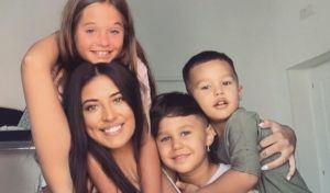 antonia si copiii ei