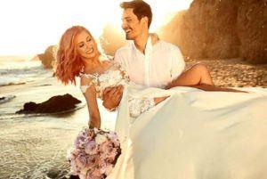 Andreea-Bălan-și-George-Burcea-nunta pe plaja