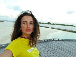 paula hriscu in maldive