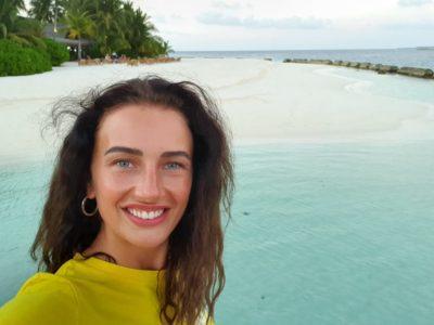 paula hriscu in vacanta in maldive