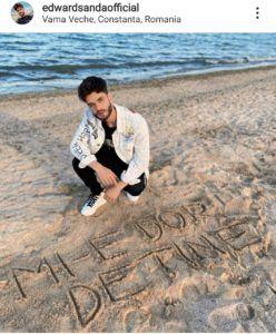edward sanda declaratie pe plaja