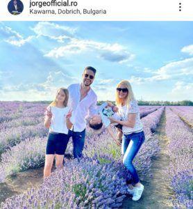 jorge cu familia in bulgaria