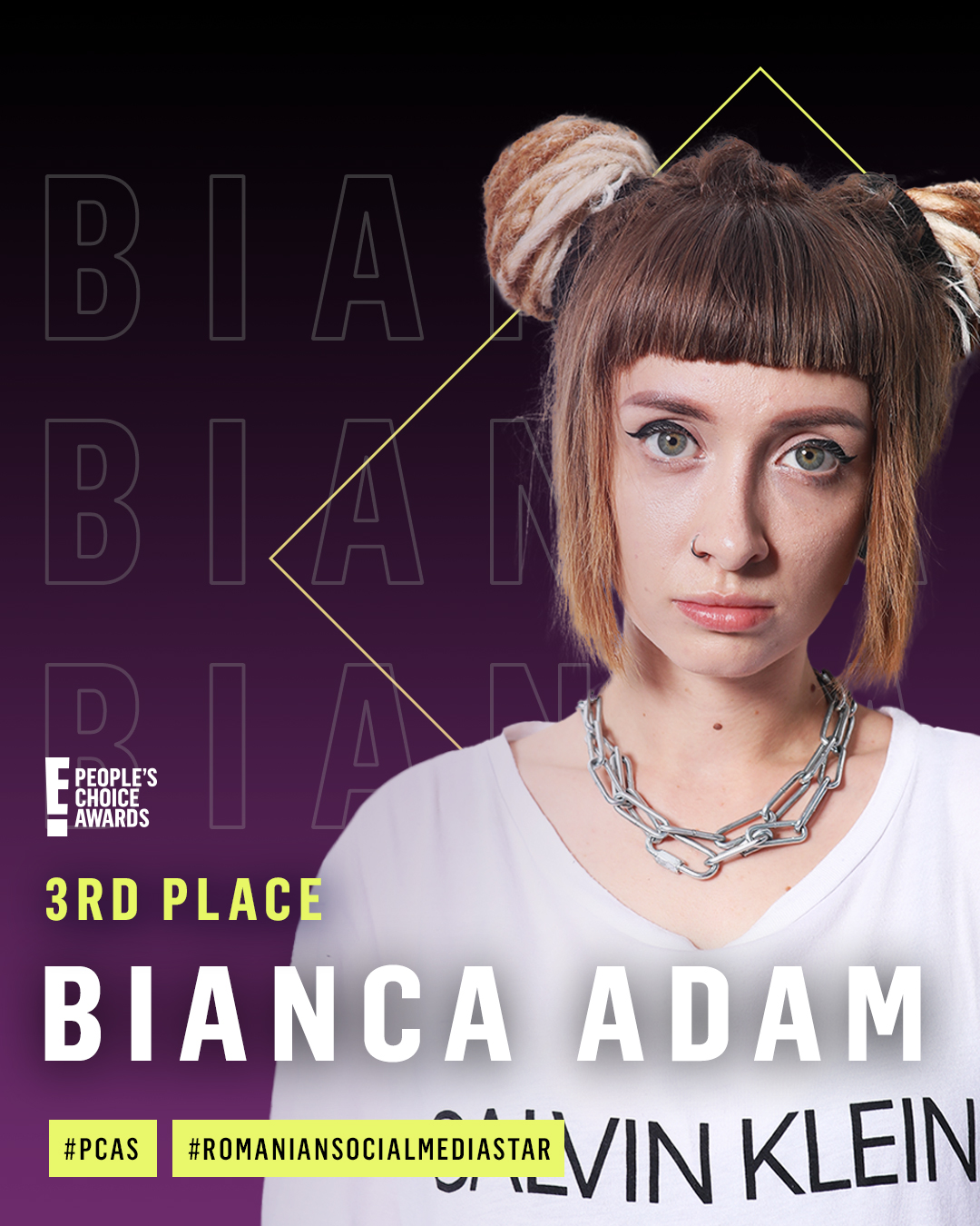 Bianca adam 3rd place_Romanian Social Media Star 2020