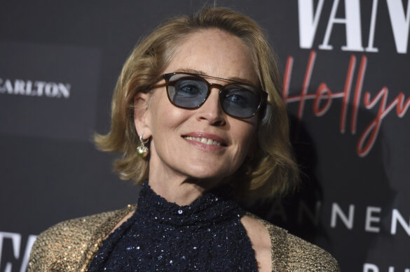 Sharon Stone arrives at the Annenberg Space for Photography's Vanity Fair: Hollywood Calling Exhibit Opening on Tuesday, Feb. 4, 2020 in Los Angeles. (Photo by Jordan Strauss/Invision/AP)